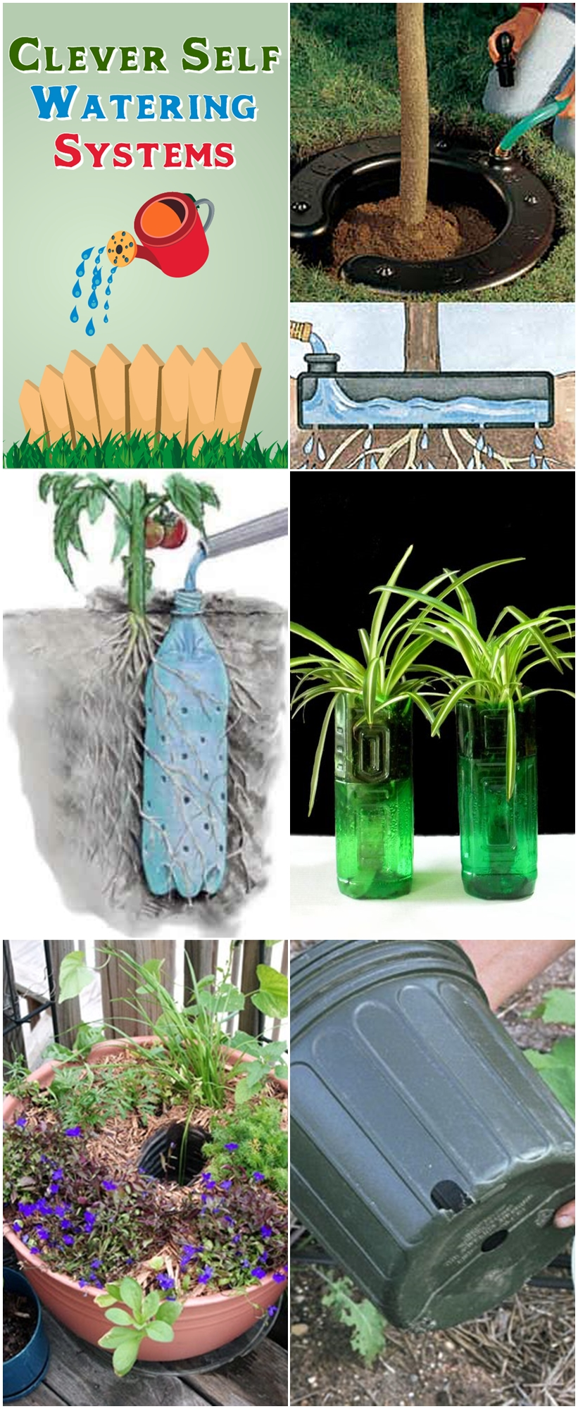 Clever Self Watering Systems