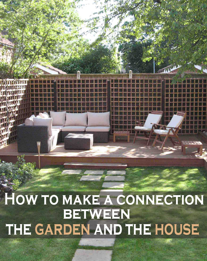 How To Make A Connection Between The Garden And The House Green Leaf Tips