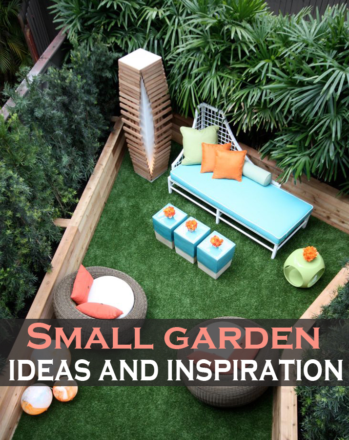 Small garden ideas and inspiration green leaf tips for Garden inspiration ideas